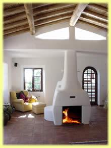 kachelofen algarve lehmofen grundofen kachel fen. Black Bedroom Furniture Sets. Home Design Ideas
